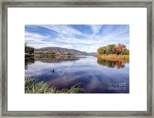 Framed Print featuring the photograph Fall Perfection by Kari Yearous