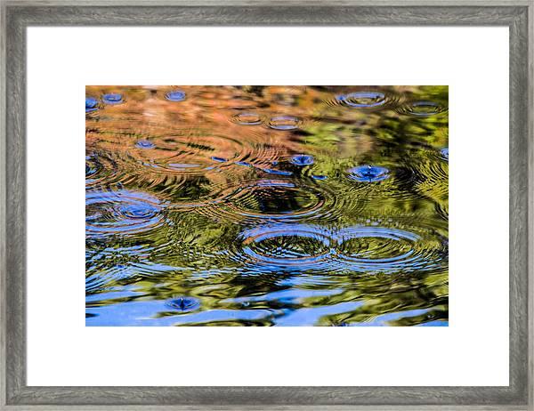 Fall Reflection 1 Framed Print
