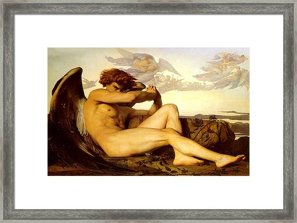 Fallen Angel  Framed Print