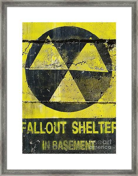 Fallout Shelter Framed Print