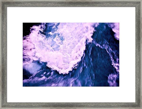 Framed Print featuring the photograph Falls Abstract by HweeYen Ong