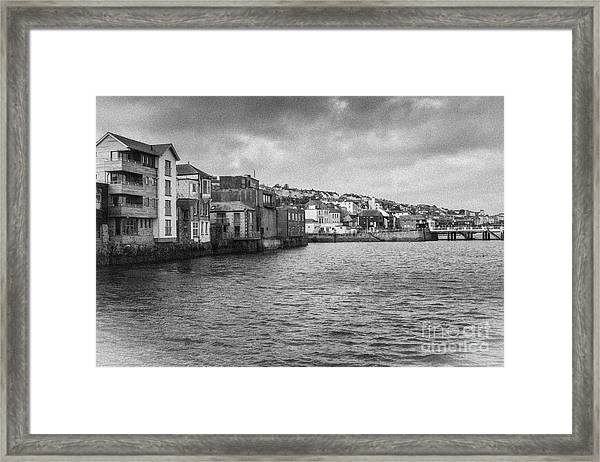 Falmouth Waterfront Framed Print
