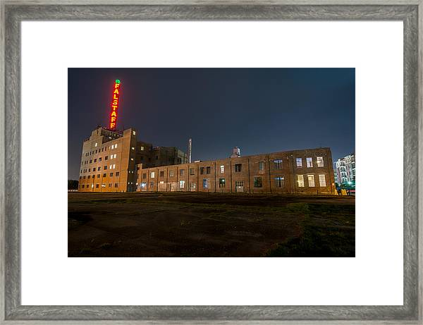 Falstaff Brewery Framed Print