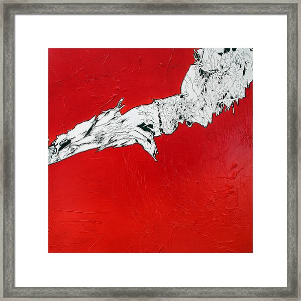 Familiarity Of An Unknown - Bottom Piece Framed Print