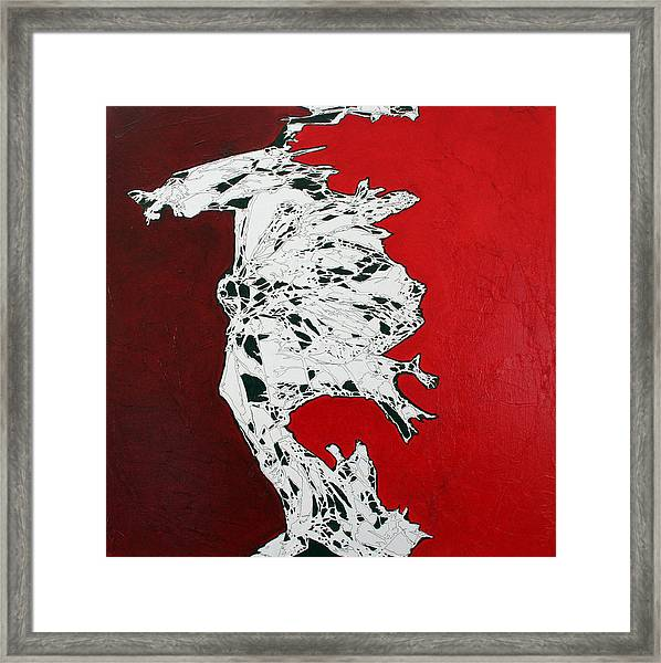Familiarity Of An Unknown - Top Piece Framed Print