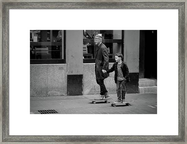 Family Values Framed Print