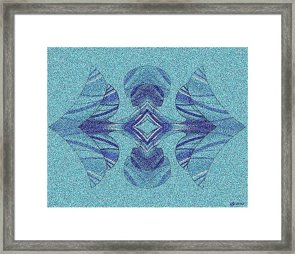 Fancy Smancy Tile 1 Framed Print