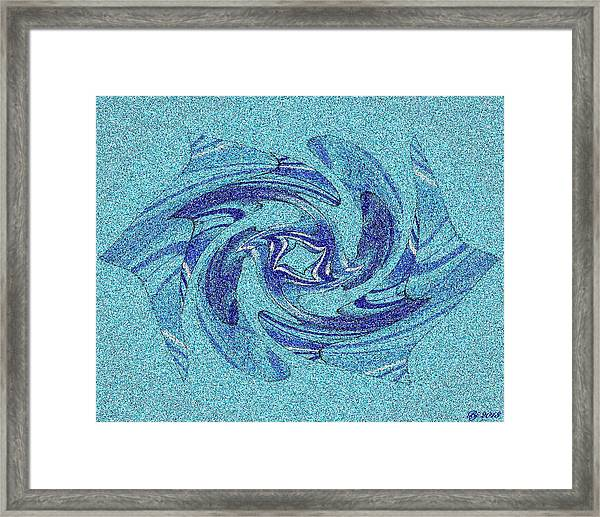 Fancy Smancy Tile 2 Framed Print