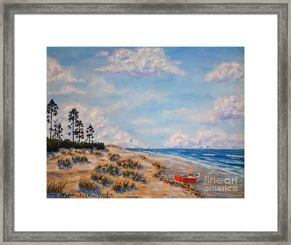 Far From The Madding Crowd Framed Print