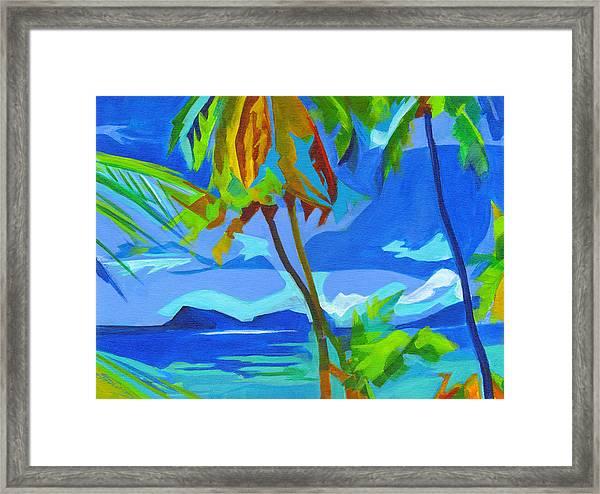 Dream Islands. Maui Framed Print