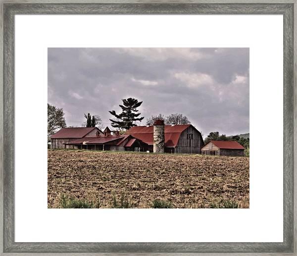 Farm 2 Framed Print