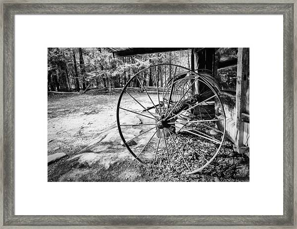 Farm Equipment Framed Print