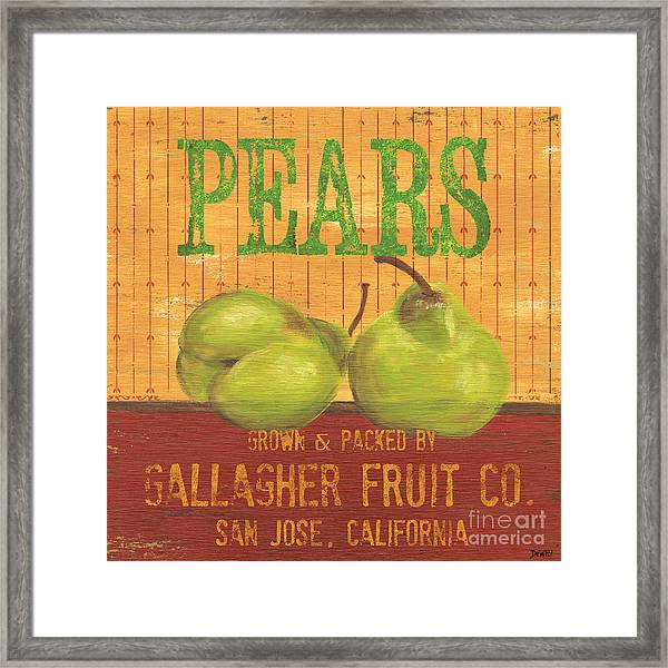Farm Fresh Fruit 1 Framed Print