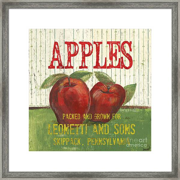 Farm Fresh Fruit 3 Framed Print