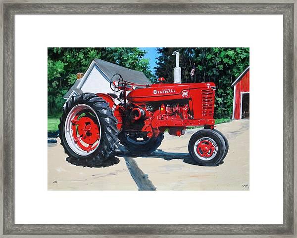 Farmall M Framed Print