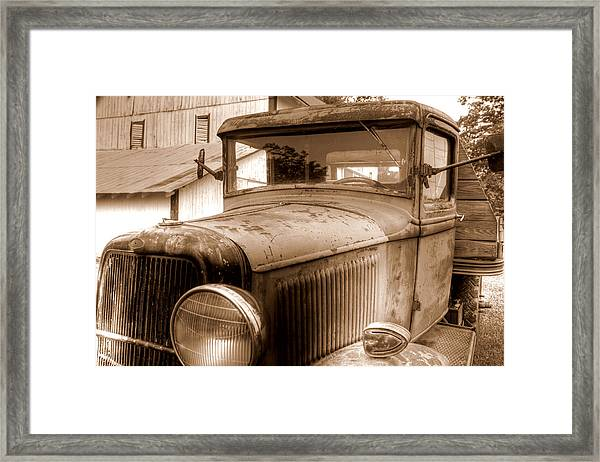 Farmer's Best Friend Framed Print