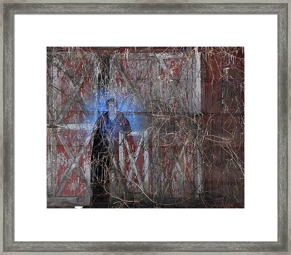 Farmer's Eulogy Framed Print