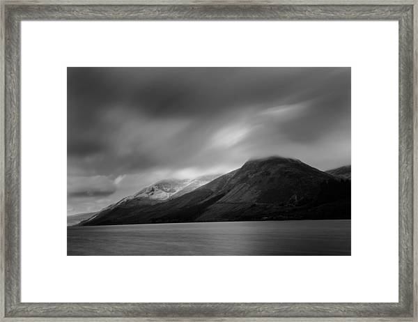 Fast Clouds Over Loch Ness Framed Print