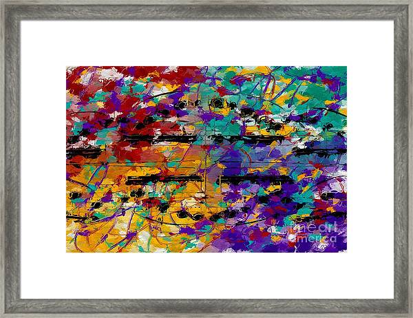 Fat Tuesday Framed Print