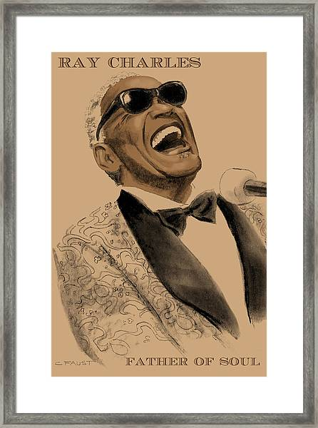 Father Of Soul Framed Print