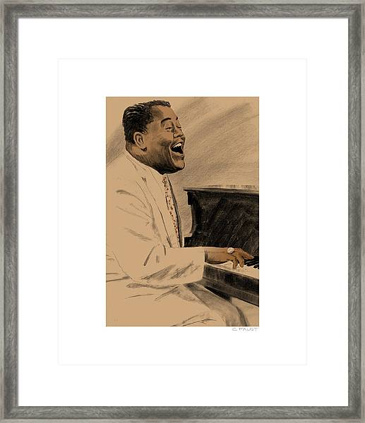 Fats Domino Framed Print