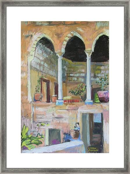 Fauzi Azar Mansion Framed Print