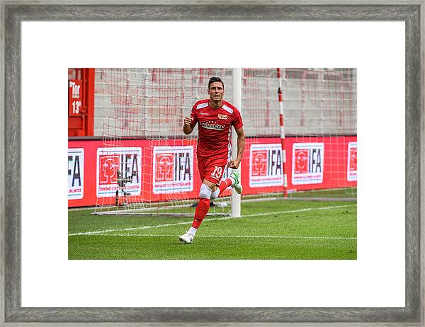 Fc Union Berlin V Queenspark Rangers - Test Match Framed Print by Florian Pohl