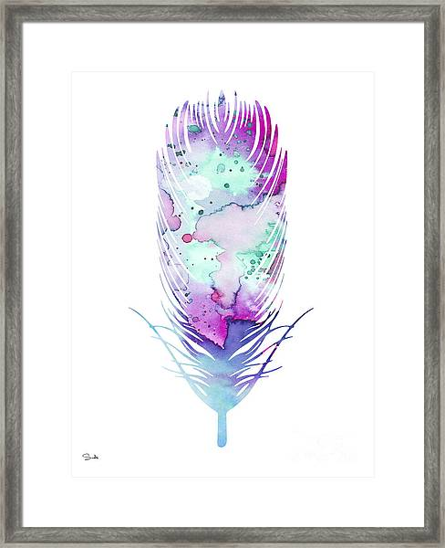 Feather 5 Framed Print