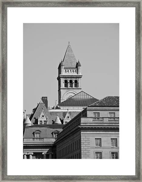 Federal Triangle In Dc Framed Print