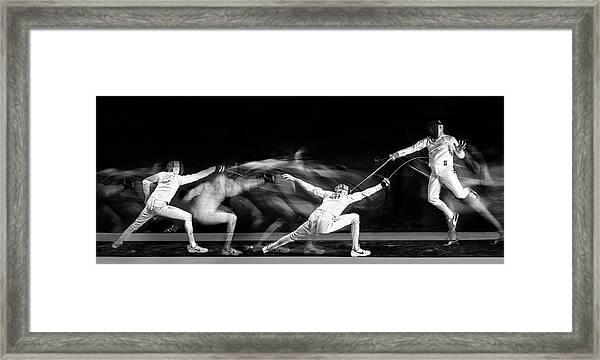 Fencing #1 Framed Print