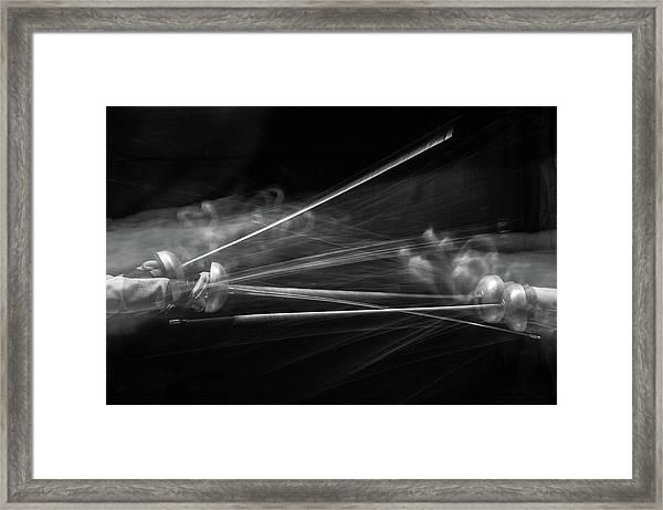 Fencing #2 Framed Print