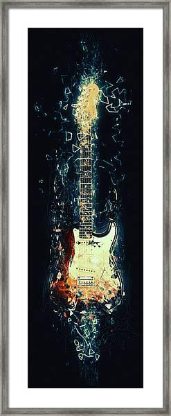 Fender Strat Framed Print