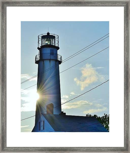 Fenwick Island Lighthouse - Delaware Framed Print
