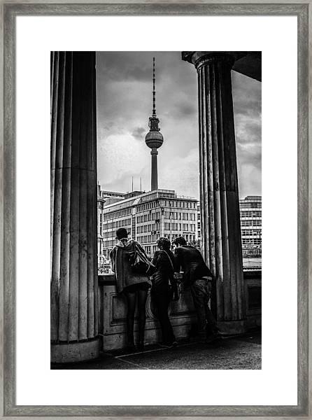 Fernsehturm Framed Print by Chris Smith