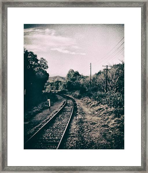 Ferrocarril Framed Print