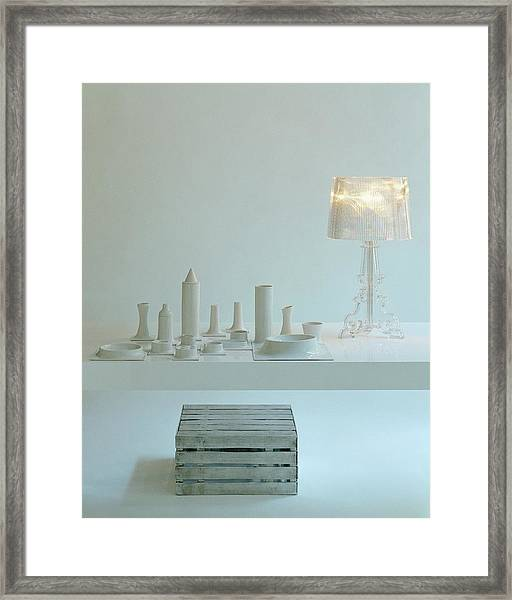 Ferruccio Laviani's Bourgie Lamp From Kartell Framed Print