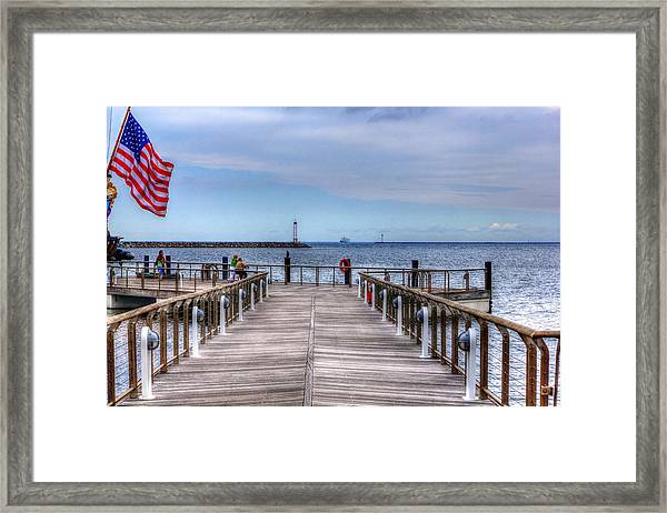 Ferry I See You Framed Print