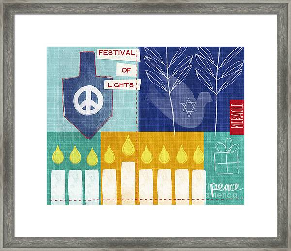 Festival Of Lights Framed Print