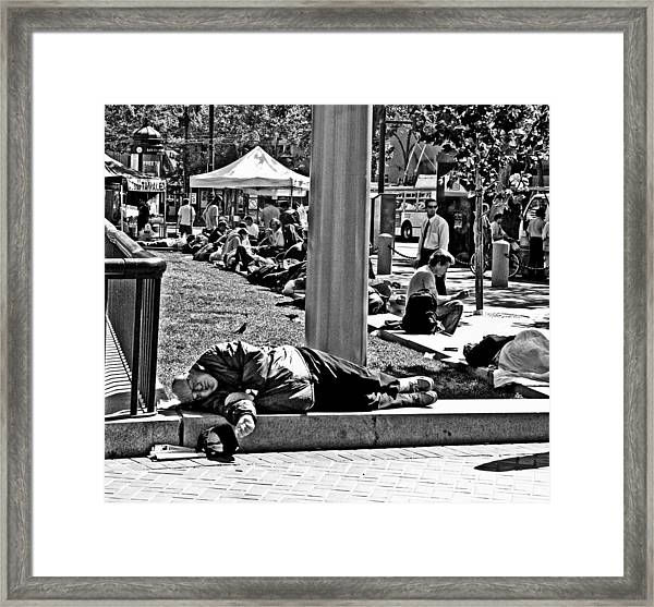 Few Care        Do You Framed Print
