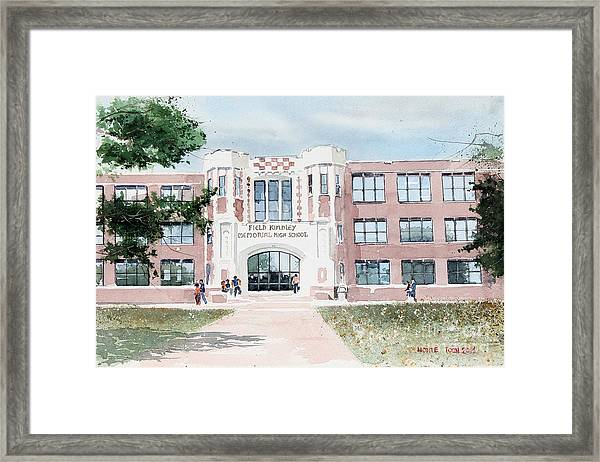 Field Kindley Memorial High School Framed Print