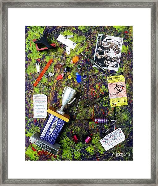 Field Of Broken Dreams Framed Print