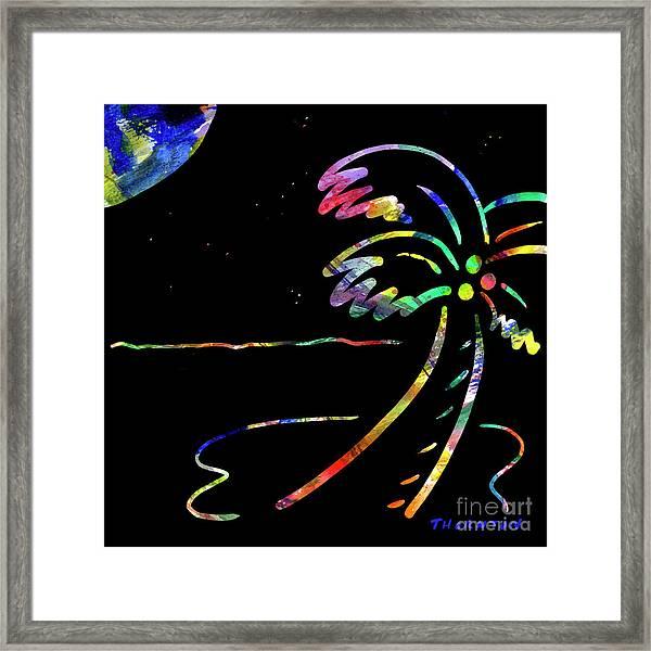 Moonglow Framed Print