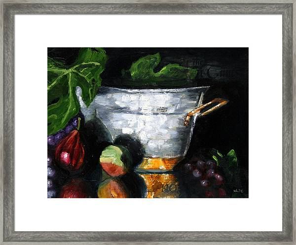 Figs And Things Framed Print