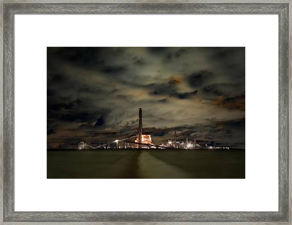 Fill The Sky With Need Framed Print