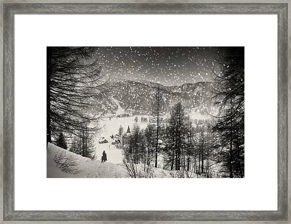 Finally At Home Framed Print by Vito Guarino