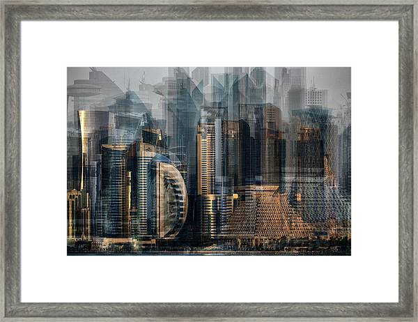 Financial District Framed Print