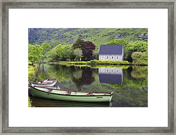 Finbarr's Retreat Framed Print