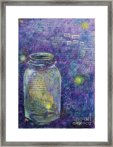 Find Magic Framed Print