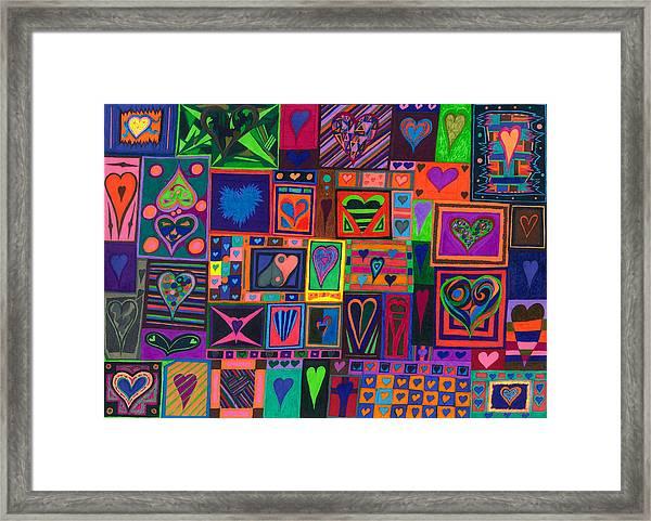 Find U'r Love Found Framed Print