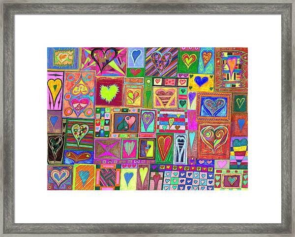 find U'r love found v6 Framed Print